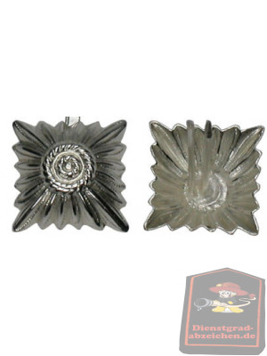 Metallstern silber 17 mm mit Splint
