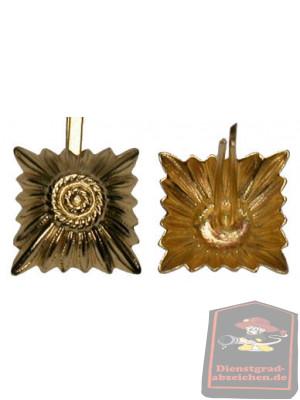Metallstern gold 17 mm mit Splint